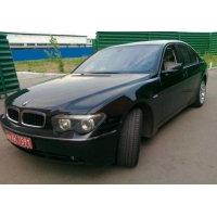 Продам а/м BMW 7 series аварийный